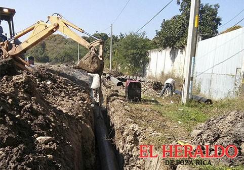 Mejoran del sistema de agua