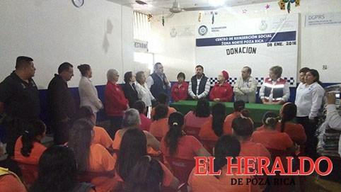 Presidente municipal visitó el Cereso local