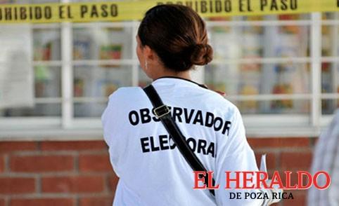 Se niegan ciudadanos a ser observadores electorales