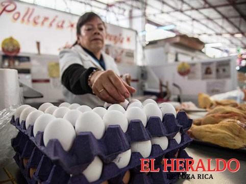 Se dispara el precio del huevo en la zona