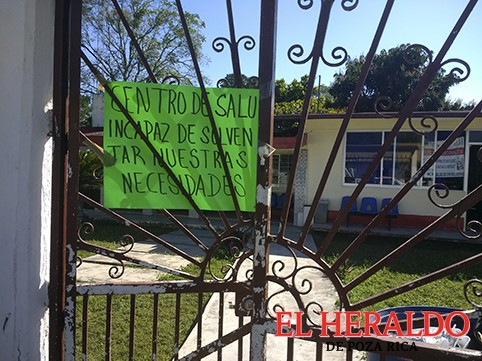 ¡Cierran clínica de Entabladero!