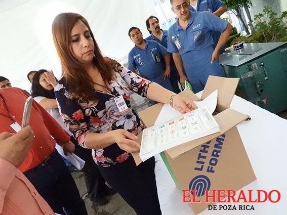 Inicia traslado de boletas a los distritos electorales