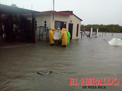 Se inunda Tamiahua