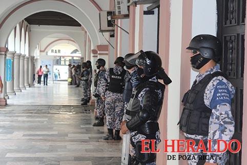 Piden ampliar convenio para presencia de fuerzas federales en Veracruz