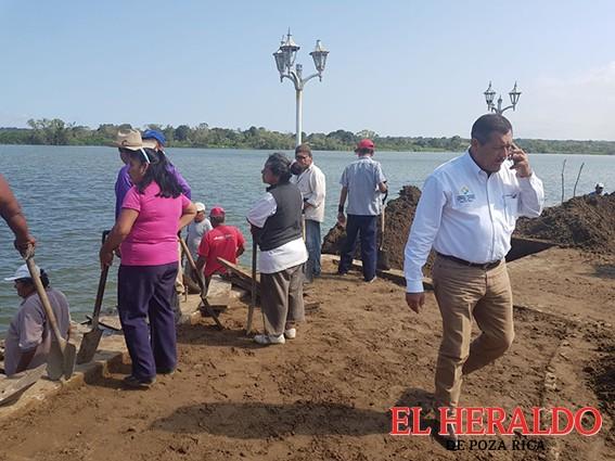 Wilman inicia rescate del Puerto Caballero