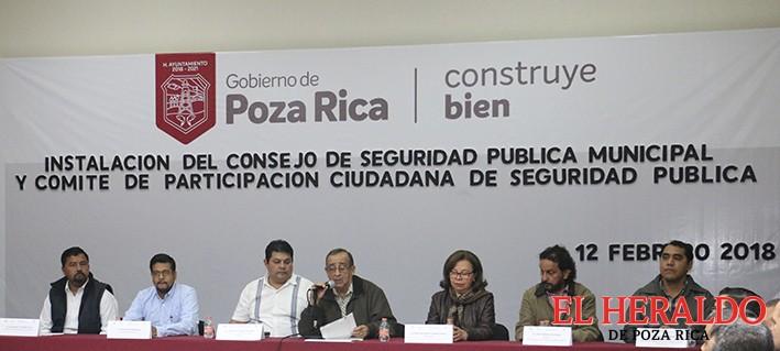 Rinde protesta Consejo de Seguridad Pública y Participación Ciudadana