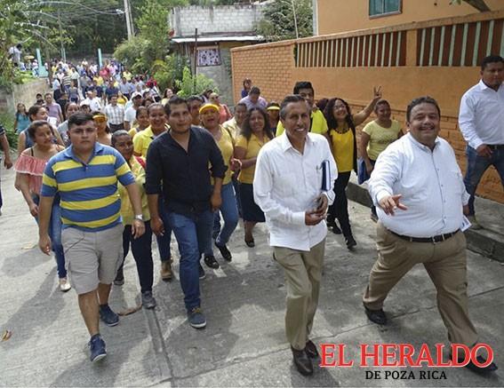 César Ulises García Vázquez candidato a la Diputación