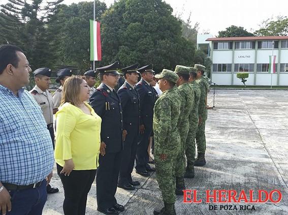 Conmemoran el Día del Ejército