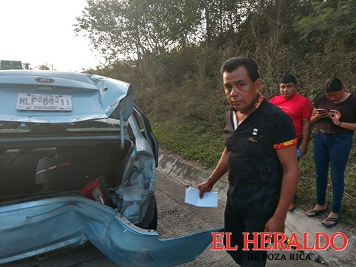 ¡Cuatro lesionados en la México-Tuxpan !