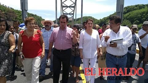 Dejan como nuevo al puente Bicentenario