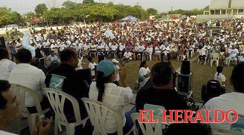 Saúl Zapata Vargas, recibe multitudinario apoyo