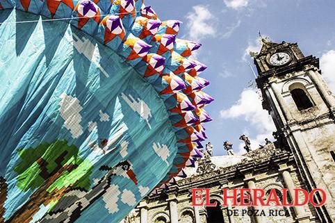 Llega a Zozocolco Festival Internacional de Globos