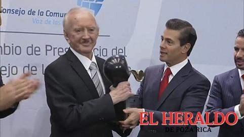 Don Rogerio Azcárraga Madero: Premio Nacional de la Comunicación