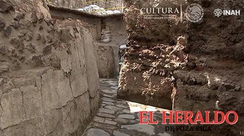 Descubren el Templo de Ehécatl