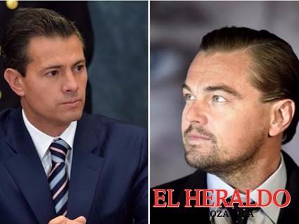 Peña Nieto se reúne con DiCaprio en Los Pinos