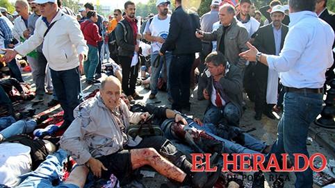 Doble atentado en Irán