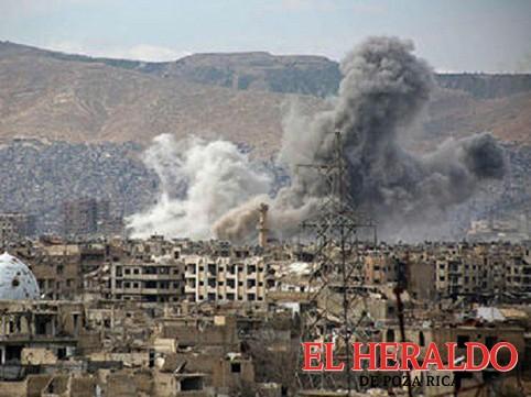 Aviones sirios bombardean posiciones yihadistas