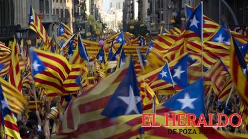 Preparan referéndum de independencia en Cataluña