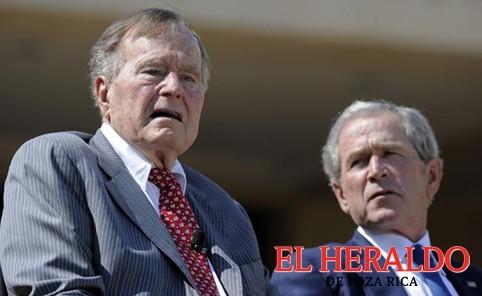 """Los Bush llaman a rechazar el """"racismo"""""""