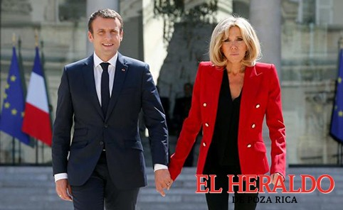 Macron enfrenta rechazo al rol de la primera dama