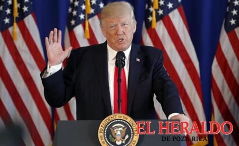 Critican a Trump por declaración sobre disturbios