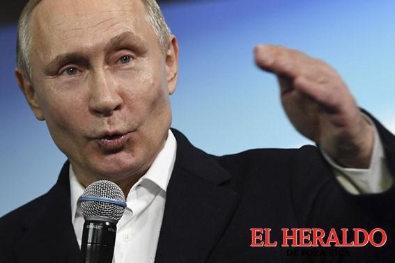 Niega Putin armas químicas