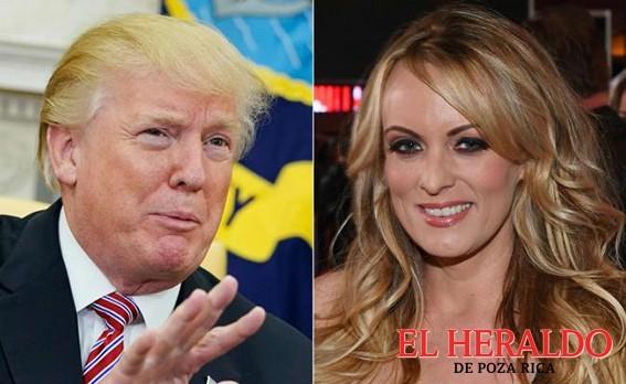 Niega Trump relación con actriz