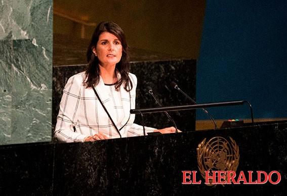 EE.UU se retira del Consejo de Derechos Humanos de la ONU