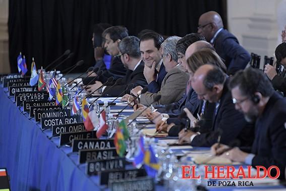 Aprueba OEA resolución