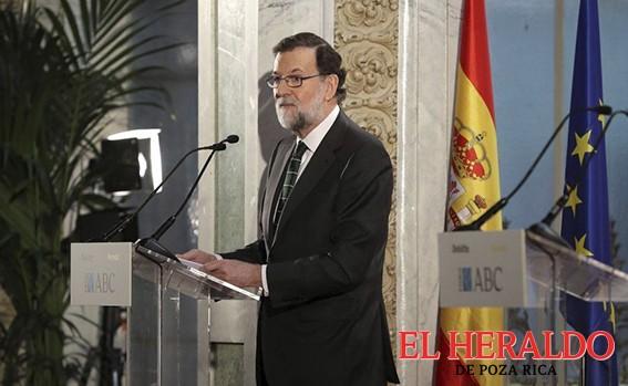 Anuncia Rajoy su retirada