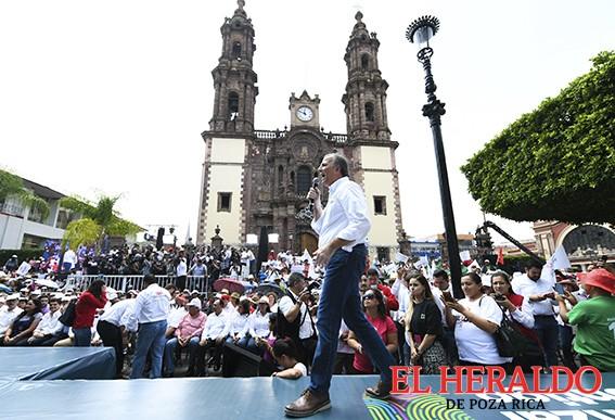 Devolveremos la paz: José Antonio Meade