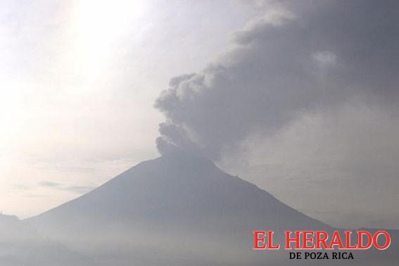 Preparan mapa de riesgos del Popocatépetl