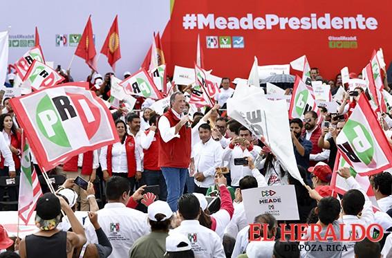 El voto reflexivo y consciente me hará ganar: Meade