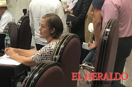 Reaparece Eva Cadena en Congreso