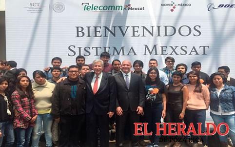 SCT recibe llaves para el control total del MEXSAT