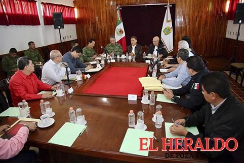 Pide Gobernador trabajo coordinado con alcaldes
