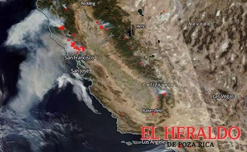 Incendios en California dejan 15 muertos