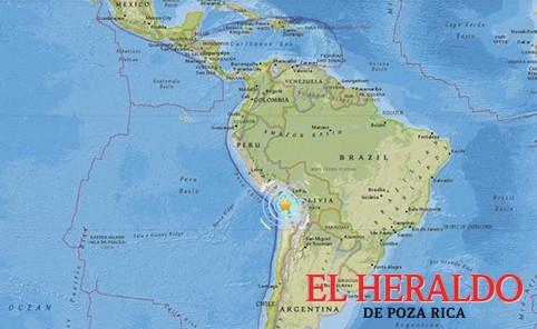Hay 7 heridos en Perú tras sismo