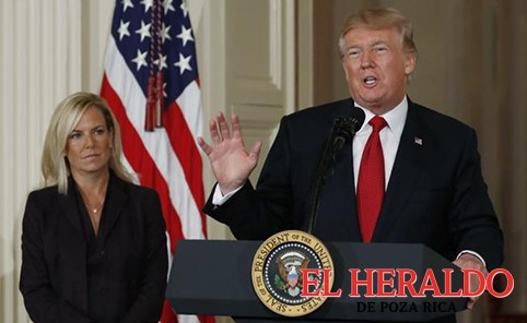 Trump nomina a Kirstjen Nielsen