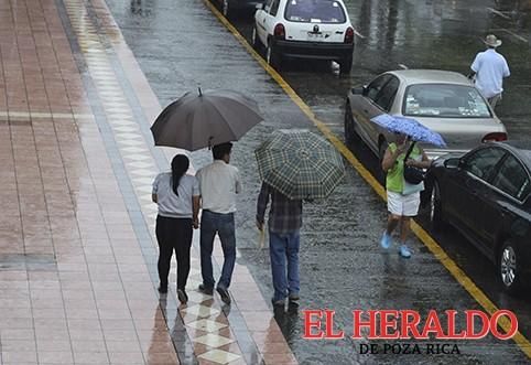 Continuarán las lluvias en las siguientes 48 horas