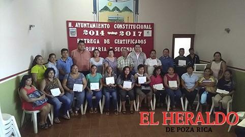 Entrega IVEA certificados