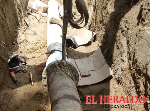 Restablecen el servicio de agua