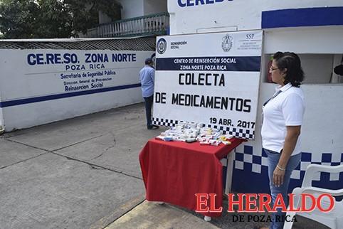 Arranca CERESO campaña de recolección de medicinas