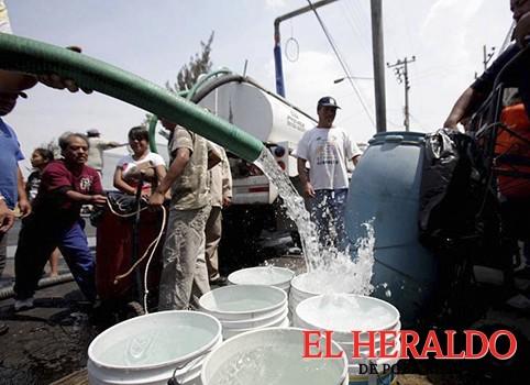 Sin agua, más de la mitad de los papantecos: Moncayo