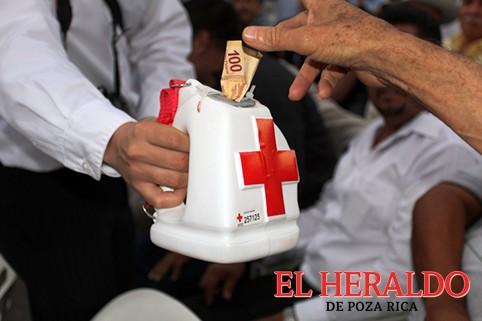 En números rojos colecta de la Cruz Roja