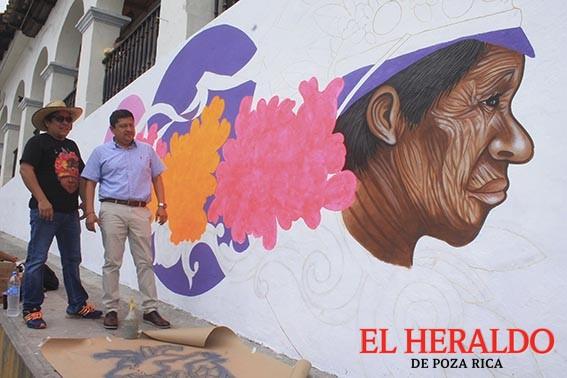 Ponen en marcha proyecto de murales culturales