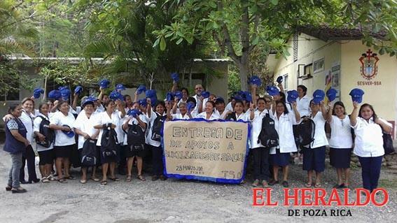Llegan apoyos en materia de Salud a la sierra del totonacapan