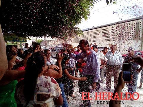 Con Del Río Virgen el campo papanteco florecerá