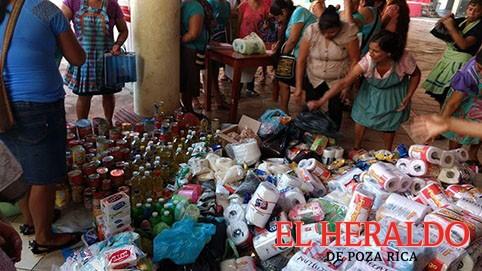 Instalan centro de acopio en Mecatlán