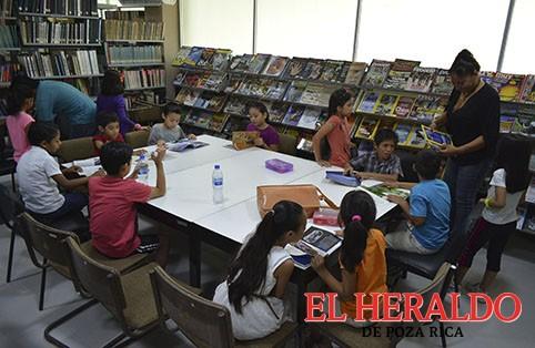 """Alistan programa """"Mis Vacaciones"""" en la Biblioteca"""